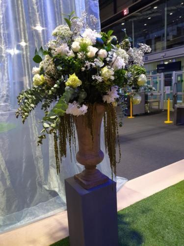 Composición floral natural Feriarte