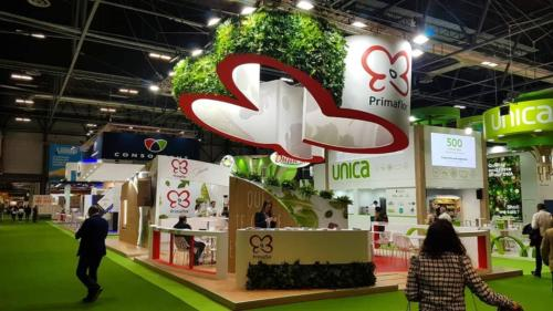 Jardín vertical artificial Fruit Attraction 2020