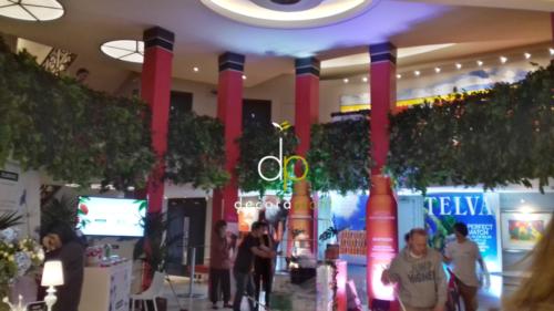 Jardín vertical Premios TELVA Belleza 2019, Teatro Coliseum